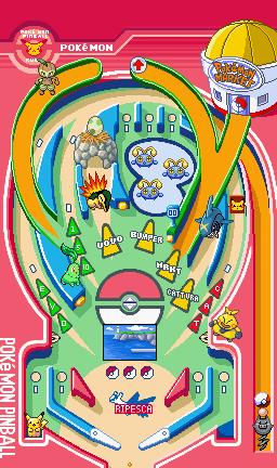 Pokémon Pinball Ruby / Sapphire Flipper_rubino