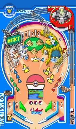 Pokémon Pinball Ruby / Sapphire Flipper_zaffiro