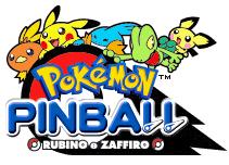 Pokémon Pinball Ruby / Sapphire Logo