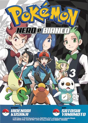 Resultado de imagen de manga pokemon nero e bianco