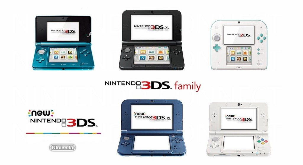 Famiglia Nintendo 3DS