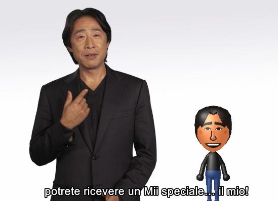 Mii speciale di Mr. Shibata