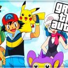 La sigla dalla serie animata Pokémon ricreata in GTA V!