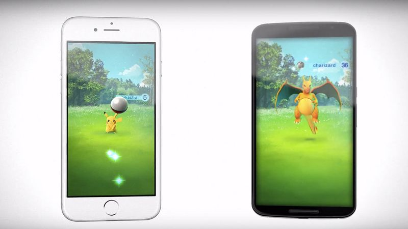 Pokémon GO - Cattura di un Pokémon