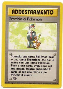 scambio di Pokémon