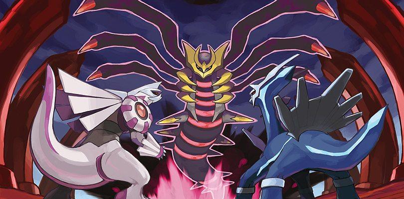Pokémon leggendari di Pokémon Diamante e Perla