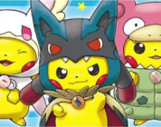 Pikachu Poncho distribuito come carta promozionale nei Pokémon Center