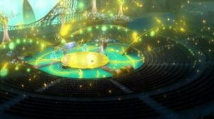 Pokémon XY&Z008 ~ Braixen ed Eevee portano a termine l'esibizione