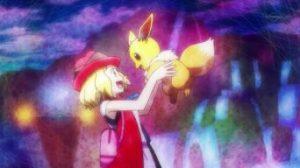 Pokémon XY&Z008 ~ Serena sprona Eevee a dare il meglio di sé