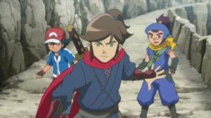 PokémonXY&Z007 ~ Saizo, Ash e Sanpei