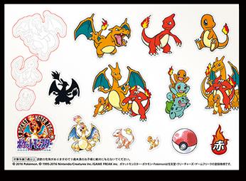 adesivi anniversario Pokémon