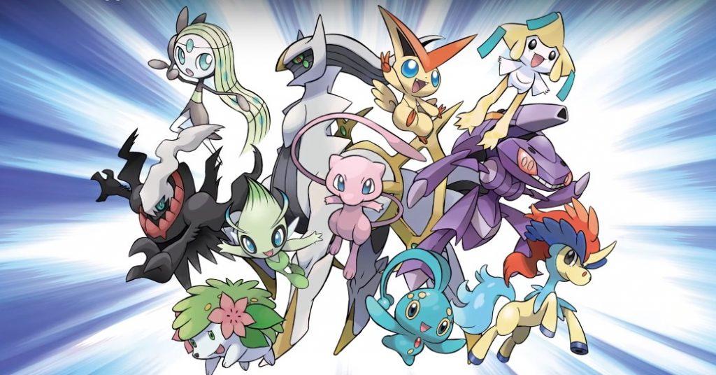 Distribuzioni Pokémon misteriosi