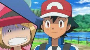 Episodio XYZ012 - Ash accetta di accompagnare Meringa