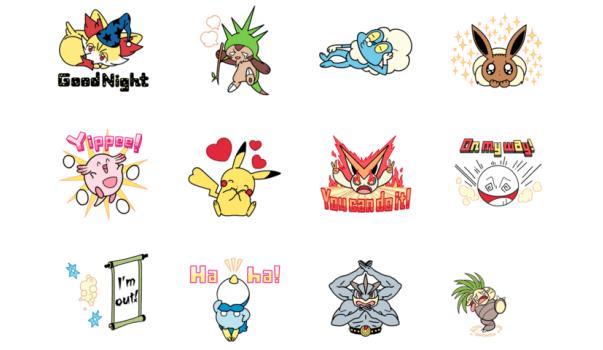 Sticker Pokémon Line 02