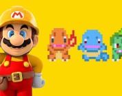I costumi di Charmander, Squirtle e Bulbasaur disponibili in Super Mario Maker!