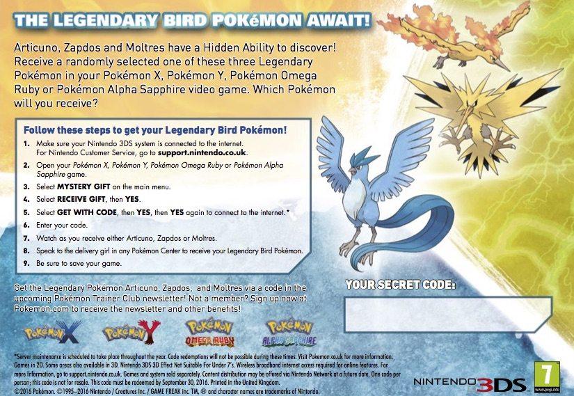 Distribuzione Uccelli leggendari ITA