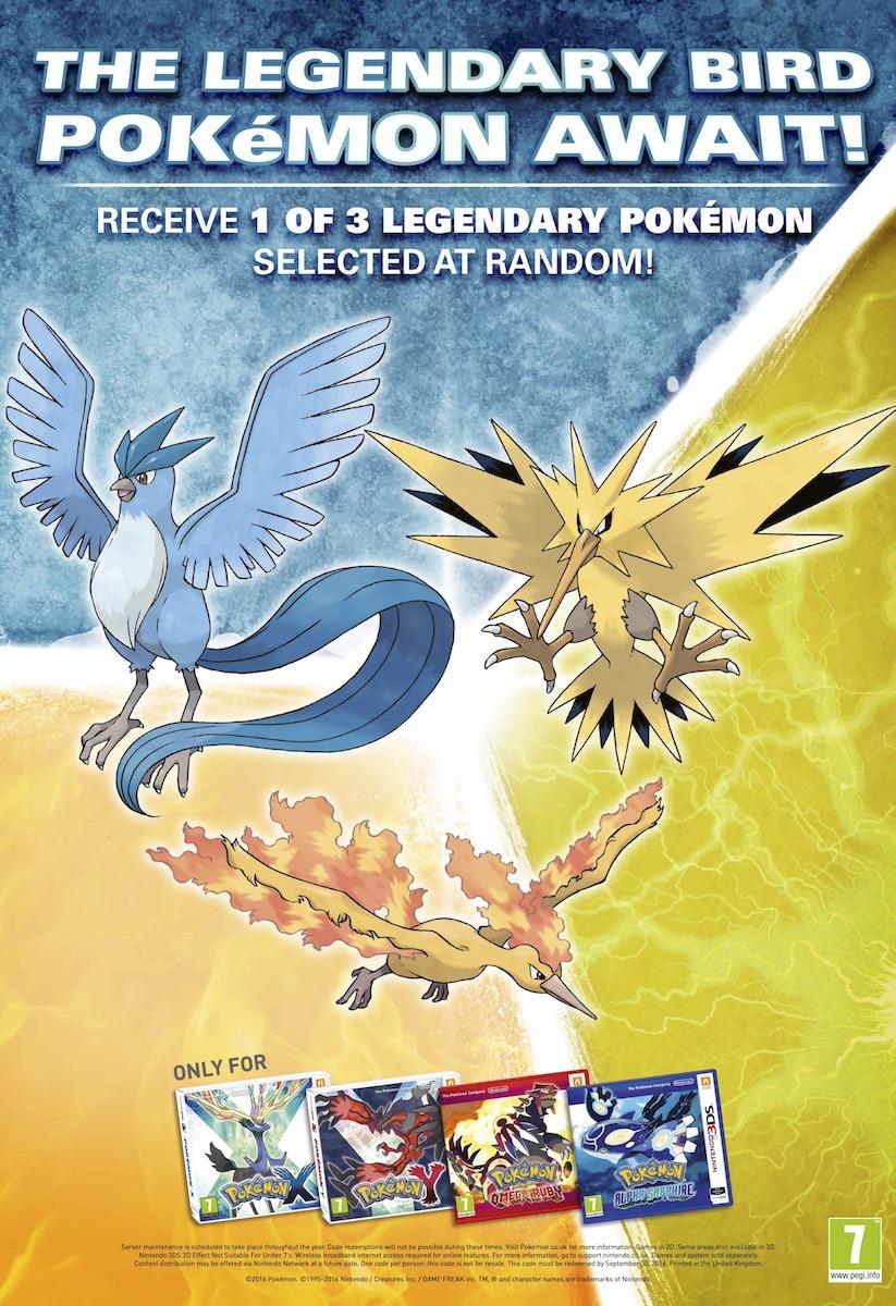 Poster Distribuzione Uccelli leggendari ITA