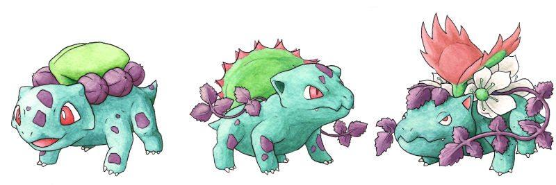 bulbasaur_linea_evolutiva