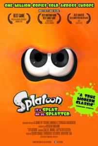 Locandina un milione di copie di Splatoon