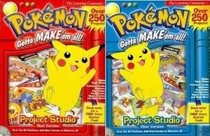 Pokémon Project Studio Red and Blue