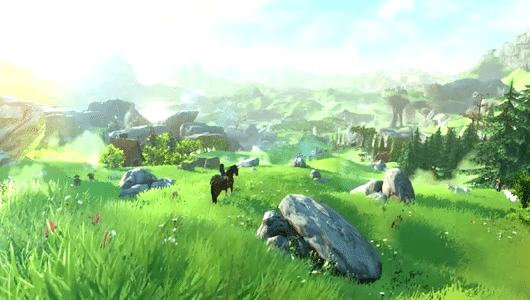 The legend of Zelda Wii U e NX