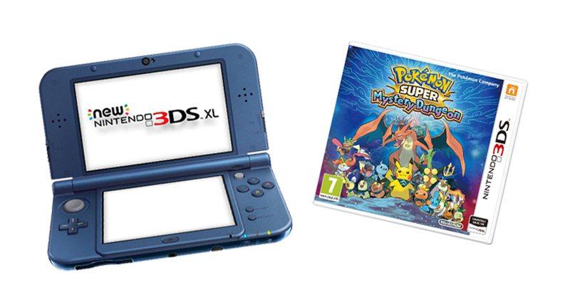 3DS e Pokémon Super Mistery Dungeon