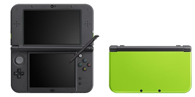 New Nintendo 3DS XL Lime