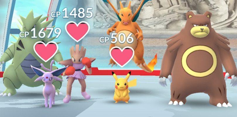 Palestre | Pokémon GO - Pokémon Millennium