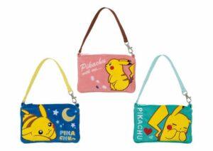 Prodotti Pokémon Center - borsette Pikachu