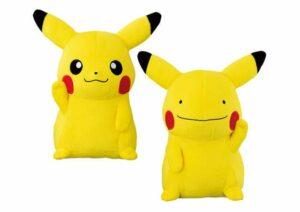 Prodotti Pokémon Center - peluche ditto e pikachu