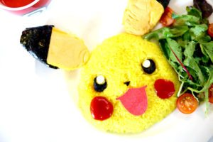 pikachu omelette