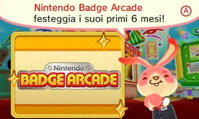Sei mesi di Nintendo Badge Arcade