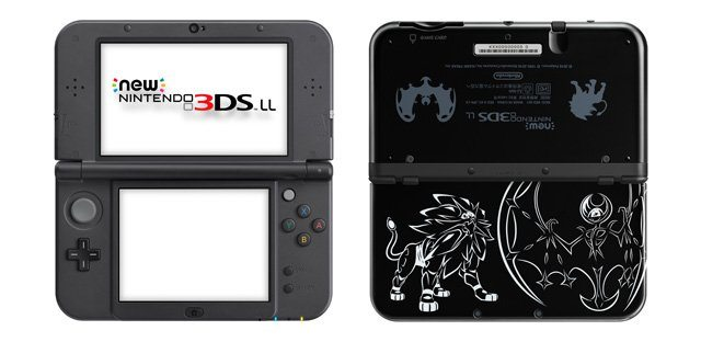 Nintendo 3DS XL Sole e Luna