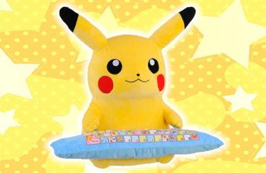 Ecco il cuscino ergonomico di Pikachu che ti renderà pigro come uno Snorlax!