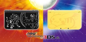 new 3ds xl solgaleo lunala pikachu