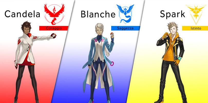 Rivelati i volti dei Capi Squadra di Pokémon GO e novità sul futuro del gioco durante il Comic-Con!