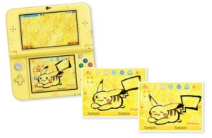 Tema Pikachu Nintendo 3DS
