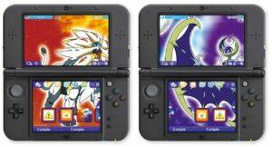 Tema Pokémon Sole e Luna Nintendo 3DS