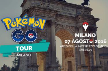 Il raduno ufficiale di Pokémon GO ti aspetta a Milano il 7 agosto!