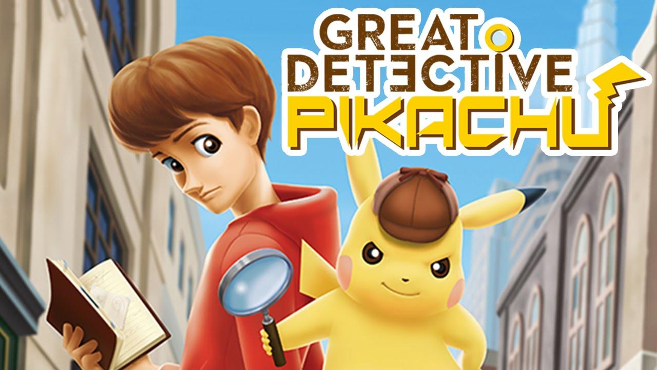 great detective pikachu