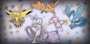 leggendari pokémon go