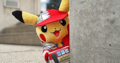 Mascotte Pikachu di San Francisco