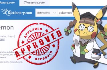 Il dizionario americano online Dictionary.com aggiunge la parola Pokémon!