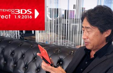 In arrivo un nuovo Nintendo Direct giovedì 1° settembre 2016!