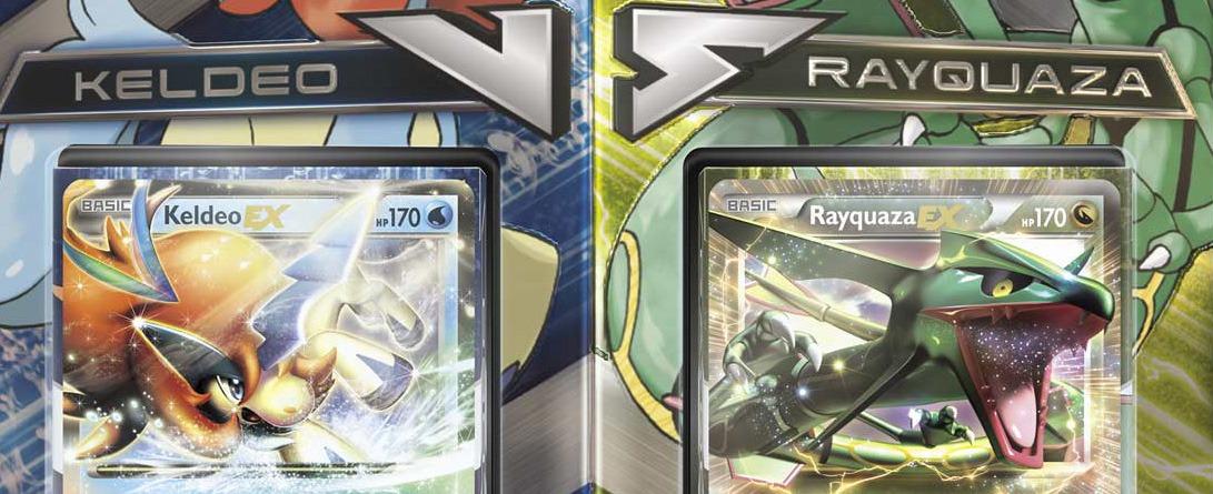 Ecco il contenuto dei mazzi Keldeo vs Rayquaza Battle ...