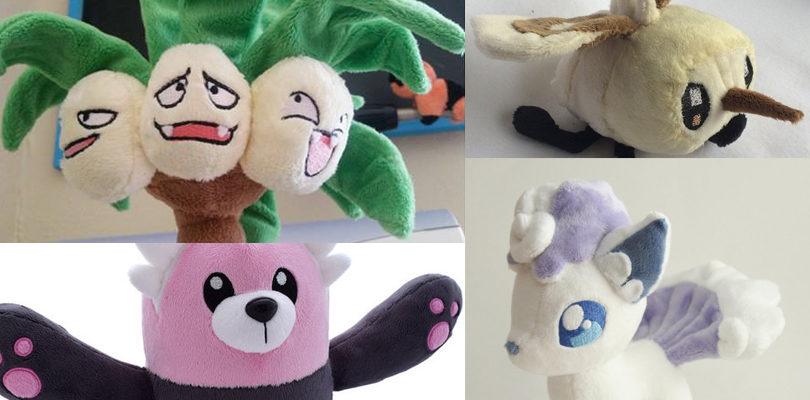 Fãs criaram muitos Plush Alola Pokémon!