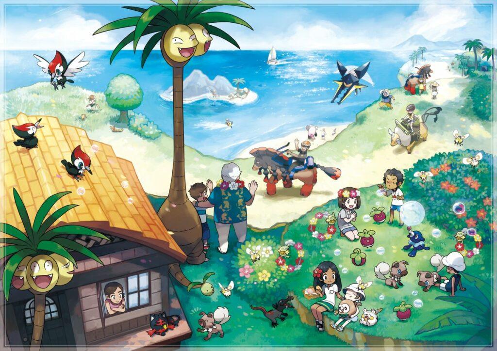Pokémon Sole e Luna - Forme Alola