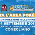 Il mondo Pokémon ti aspetta al Centro Conè di Conegliano il 24 settembre!