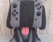Realizzato un cane peluche ispirato a Nintendo Switch!