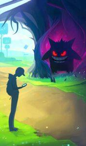 Schermata di caricamento di Pokémon GO Halloween